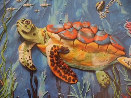 Картины из пластилина мастер класс