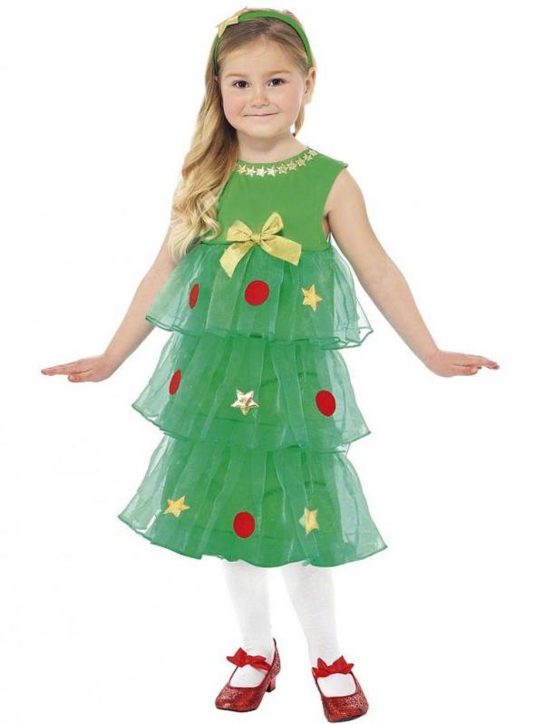 Новогодние костюм для девочки сшить своими руками 768