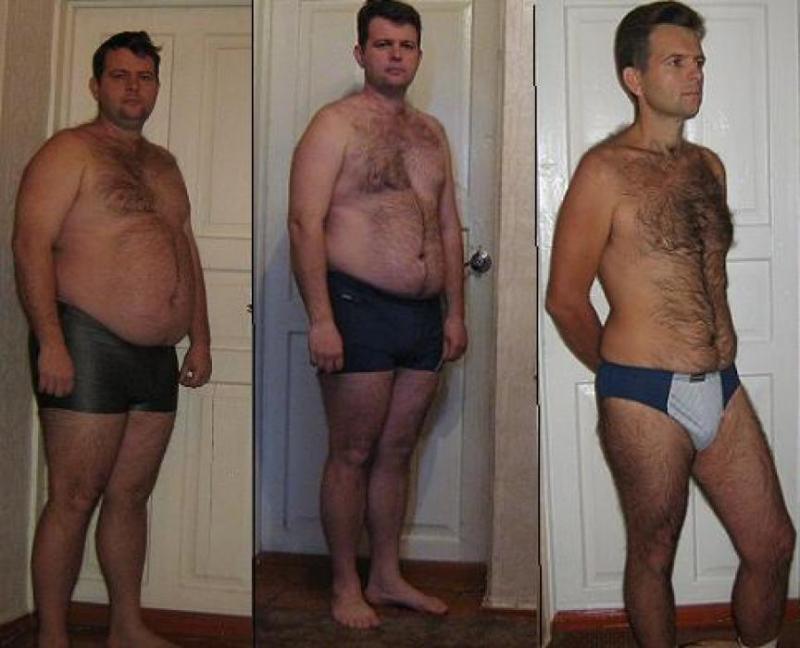 40 кг похудеть мужчине